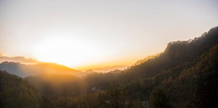 十里画廊美如画----米仓山国家森林公园