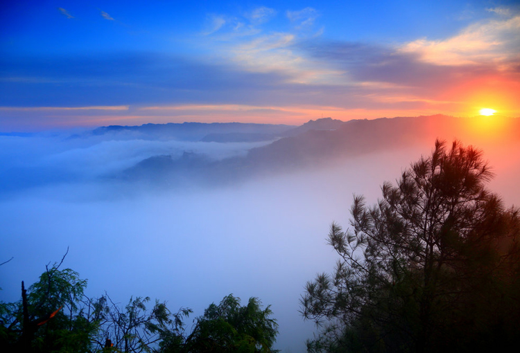 光雾山旅游摄影徒步攻略