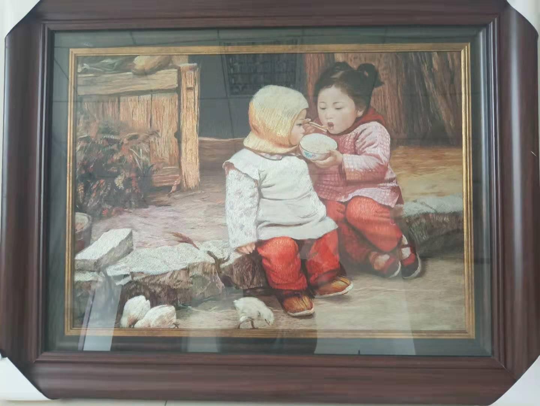 童年的记忆145X82cm80000元